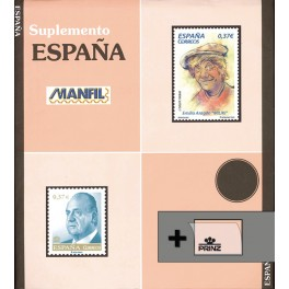 SPAIN 2010 1A SF BLACK MANFIL SPANISH