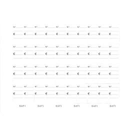 ENVELOPE CRISTAL PAPER 160X115 PQ.100u SAFI