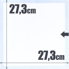 1 POCKET EDIFIL SHEET 27'3X30 15T SAFI